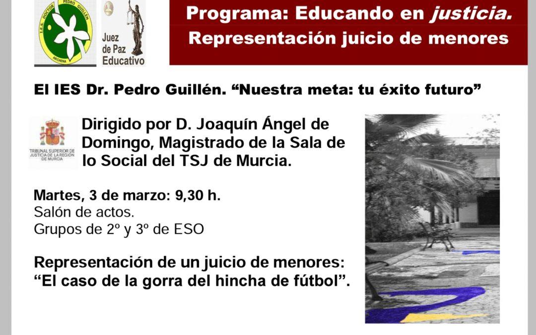 """Programa """"Juez de Paz Educativo""""."""
