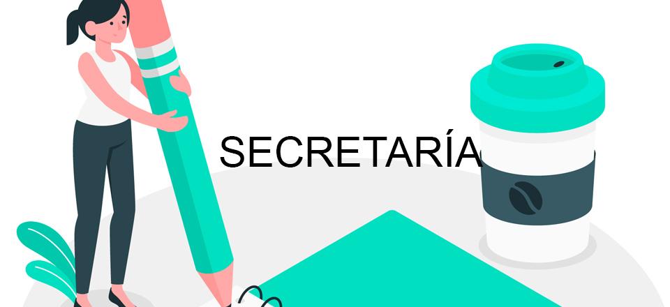 Secretaría 1