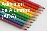 ADMISIÓN ALUMNADO NUEVO : SOLICITUD DE PLAZA CURSO 2020-2021