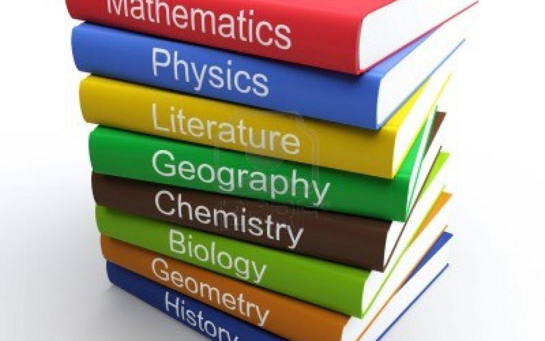 Libros de texto para el curso 2020/21