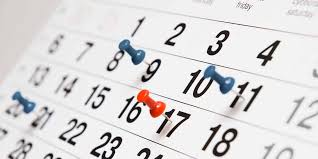 Calendario de semipresencialidad Noviembre – Diciembre