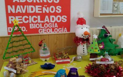 VIII Concurso de Adornos Navideños Reciclados.