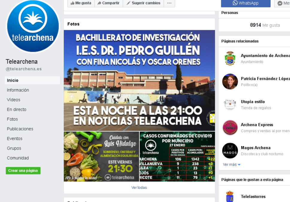 El Bachillerato de Investigación en TELEARCHENA.