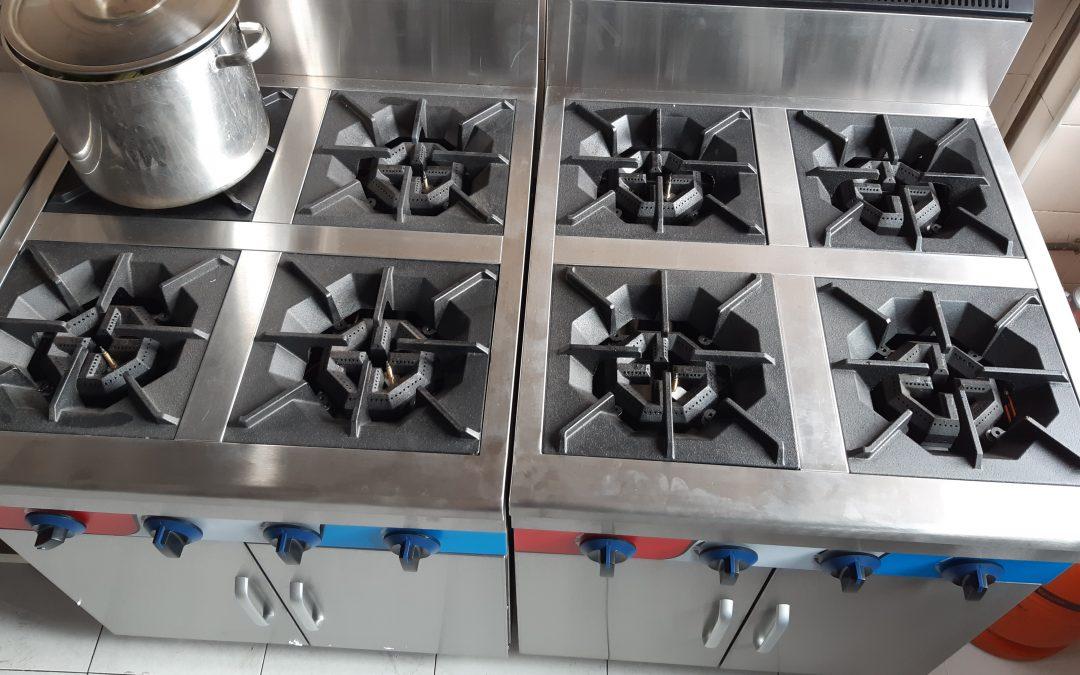 Nuevo equipamiento para la FP Básica de Cocina